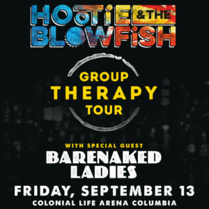 Hootie and the Blowfish concert poster