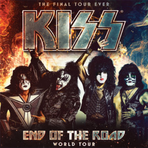 KISS concert poster