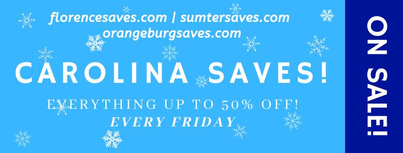 Winter Carolina SAVES!